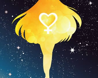 Sailor Venus Card