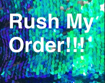 Rush my Order next day shipping. Not including 2-3 day shipping.