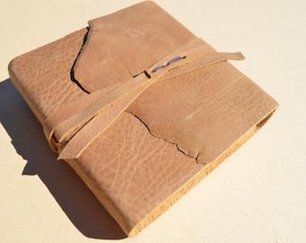 Handmade Leather Bound Journal Diary Notebook Pocket Sleeve  (592B)