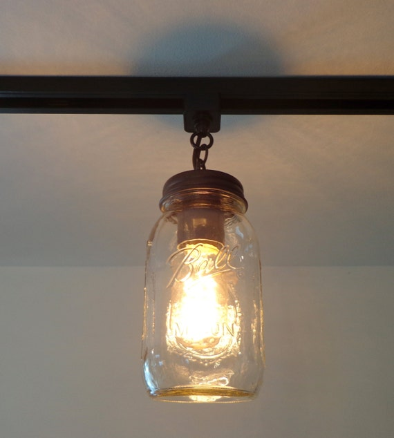 mason jar track lighting. Mason Jar TRACK LIGHTING Trio NEW Quarts - Flush Mount Ceiling Light Fixture Farmhouse Chandelier Fan Country Pendant Lamp FixerUpper Goods Track Lighting A