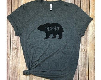 Mama bear shirt women shirt