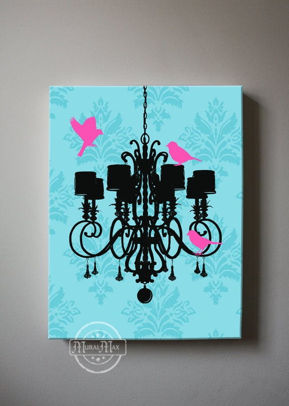 Perfect Chandelier Canvas Art Girl Room Decor Canvas Wall Art