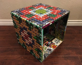 bottle cap furniture. Beer Bottle Cap \u0026 Label Table Furniture E