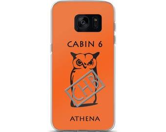 Camp Half-Blood Inspired Percy Jackson Cabin 6 Athena Samsung Case