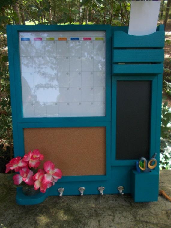 Kitchen organizer Magnetic Calendar Message Center Mail