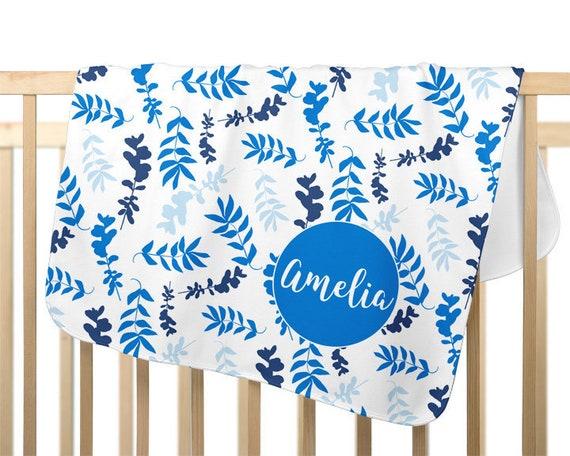 Blue Baby Blanket for Girl