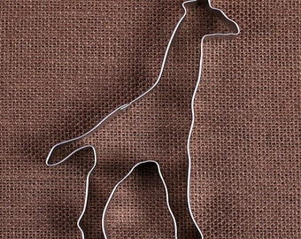 Giraffe Cookie Cutter, Metal Giraffe Cookie Cutters, Large Metal Cookie Cutters, Animal Cookie Cutters, Sugar Cookie Cutters, Biscuit Cutter