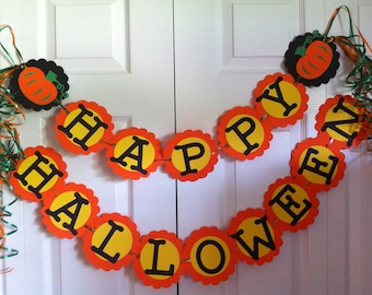 Halloween Banner Perfect for Home or Office