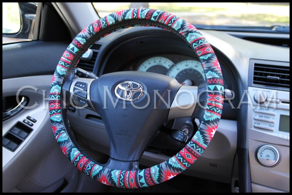 Cartoon Steering Wheel Cover Flower Embroidery Car Steering Wheel Covers  Auto Interior Steering Hub Accessories For Women-in Steering Covers from ...