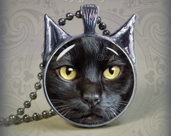 BLK11 Black CAT pendant