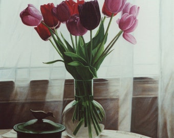 The Black Tulip - Fine Art Print