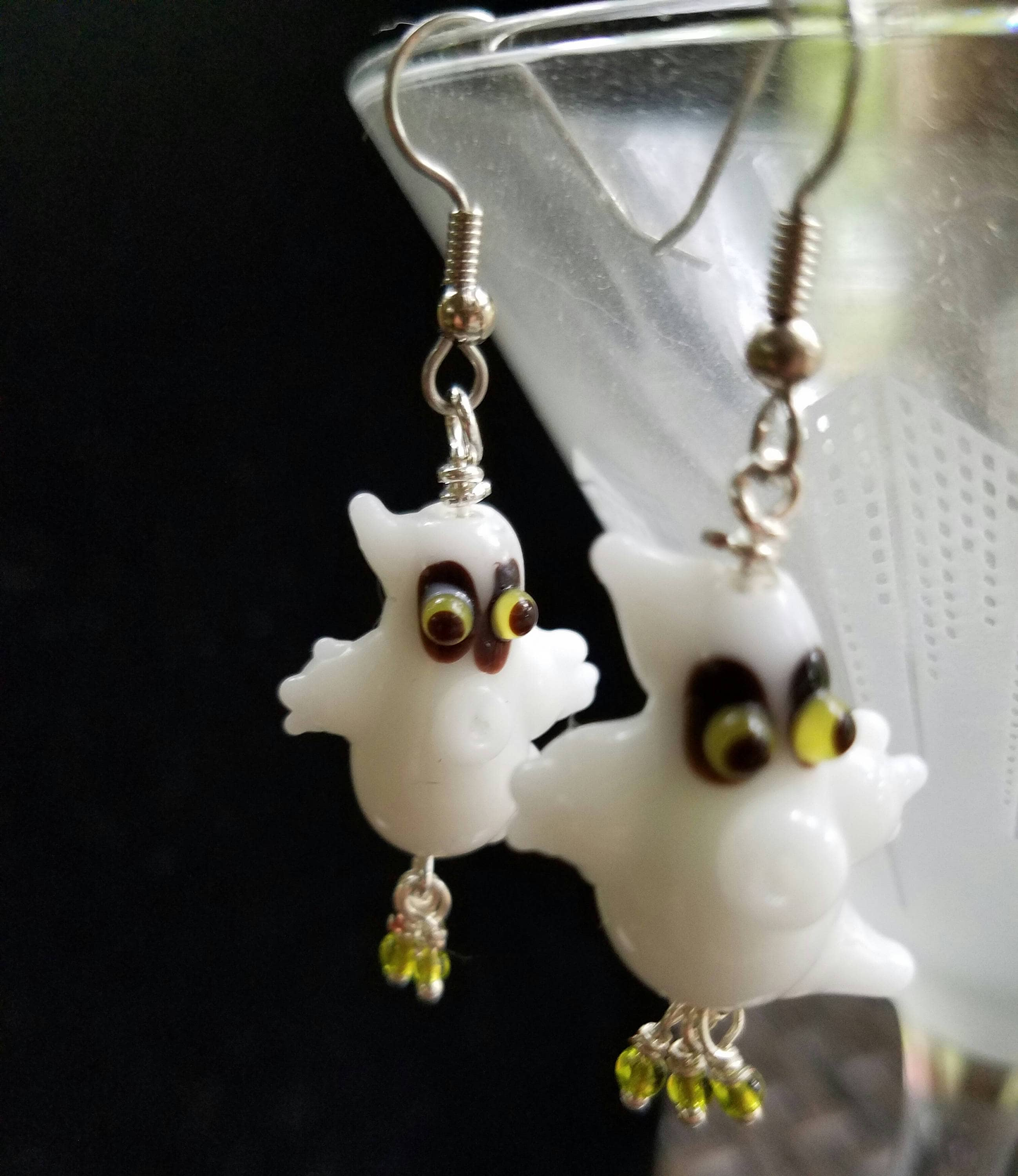 products grucifix double bag earrings ghost velvet store w