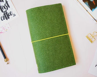 Fabric Traveler's Notebook / Traveler's Journal / Fabric Fuxdori
