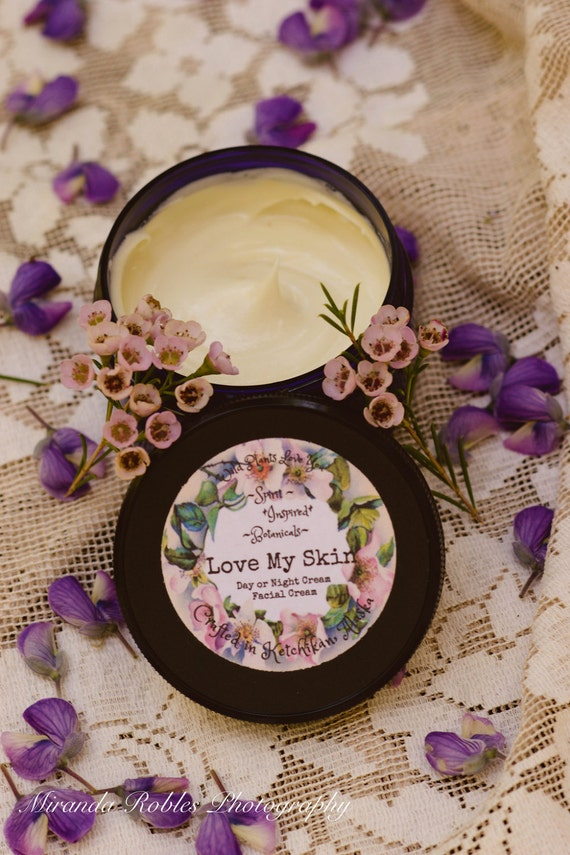 Love My Skin Unscented herbal infused cream face cream nourishing face care