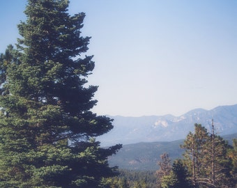 New Mexico photography, southwest photography, taos, mountain photography, rustic decor, cabin decor, landscape, sangre de cristo large art