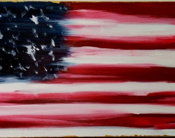Original Painting, Abstract Painting, Contemporary Art, Modern Art,Patriotic Art,Textured Wall Art,Canvas Painting,Anna Wireman,Black Friday