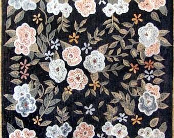 Carnation Flourish Pattern Mosaic