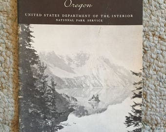 Crater Lake National Park Booklet
