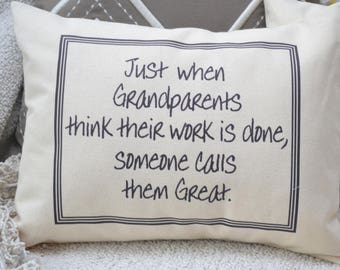 Pregnancy reveal announcement Great Grandparents, Mother's Day, hard to buy for, Mother's Day