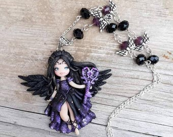 Ooak doll Angel of destiny key