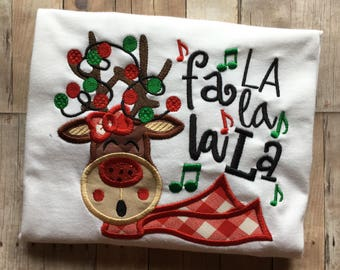 Fa La La La Christmas Shirt
