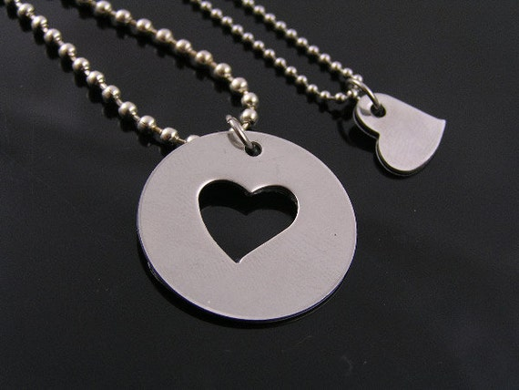 gift heart partner chain two best friendship broken product tone wholesale necklaces friends crystal quot jewelry dolphin part silver pendant bff necklace
