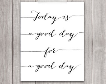 Inspirational Print - 8x10 Printable, Motivational Wall Decor, Wall Art, Home Decor, Printable Quote, Printable Art