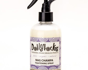 8oz Nag Champa Tightening Spray - Dollylocks Organic Products