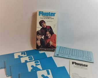 Vintage Parker Brothers Fluster Game 1973