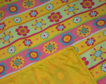 Picnic Blankets - Waterproof Picnic Blanket - Bright Floral