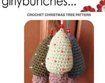 Girlybunches - Crochet Christmas Tree PDF Pattern - As Featured in Simply Crochet Magazine