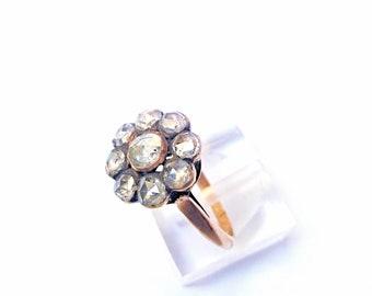 Rose Cut Diamond Ring c.1830