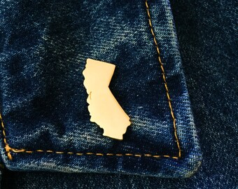 California Lapel Pin