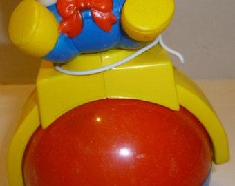 Shelcore Rock 'N Roll Humpty Dumpty Vintage Toy, 1988