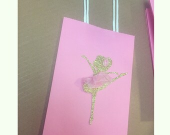 Ballerina Favor Bags