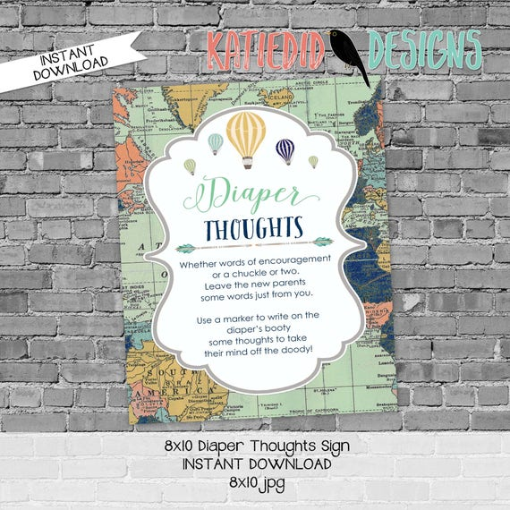 late night diaper game sign tribal arrows invite diaper wipe brunch wood gender reveal mint green and navy gray gold 1466 Katiedid Designs
