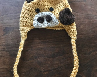 Child-Sized Giraffe Hat
