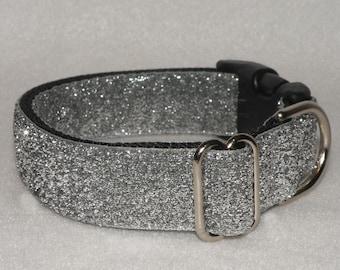 Medium Sparkle Collar - Silver