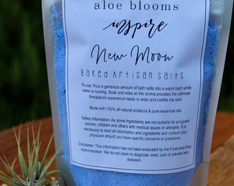 New Moon // Dead Sea Salts // Bath Aromatherapy // Bath & Body// Mothers Day Gifts