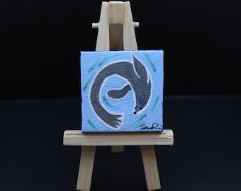 Miniature Seal Painting