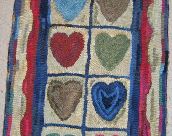 String of Hearts Rug