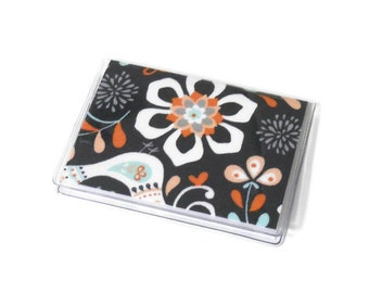 Card Case Mini Wallet Garden Floral