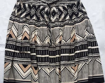 Vintage cotton skirt size 12 / M