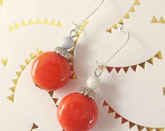 """Nice pair of earrings fantasy """"coralie"""""""
