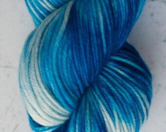 Sparkle Sock Yarn, Sky