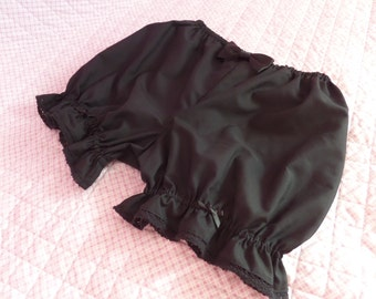 Black Kawaii Lolita Bloomers
