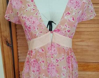 Via Del Amore Silk dress cover up