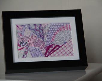 decorative frame for child version to order girl's room