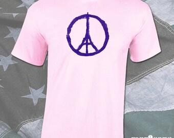 Paris Peace - Mens Shirt