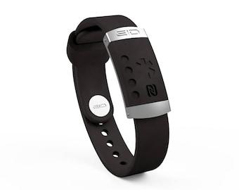 Smart Medical ID & Alert Bracelet - NFC Technology -  ID Wristband